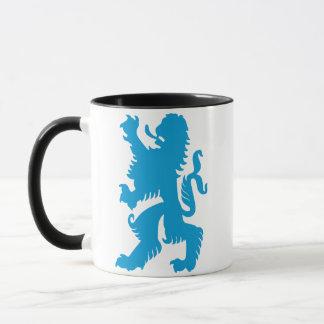 Azure Bavarian Lion Mug
