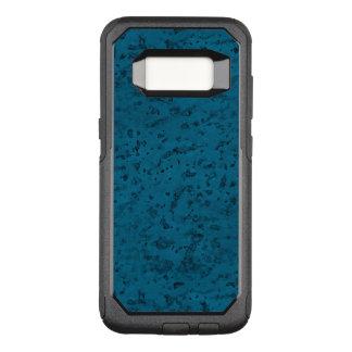 Azure Blue Cork Look Wood Grain OtterBox Commuter Samsung Galaxy S8 Case