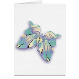 azure butterfly card