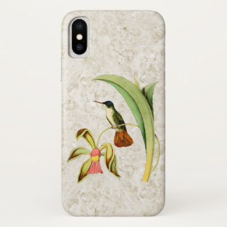 Azure Crowned Hummingbird iPhone X Case