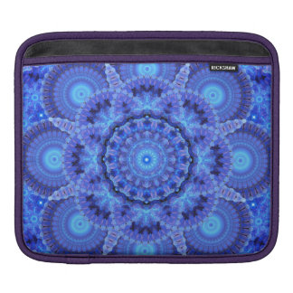 Azure Harmoney Mandala iPad Sleeve