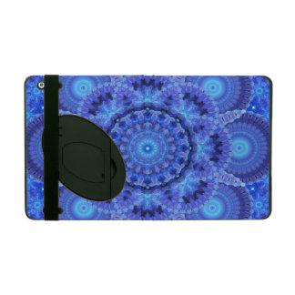 Azure Harmony Mandala iPad Folio Cover
