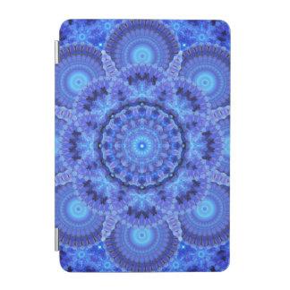 Azure Harmony Mandala iPad Mini Cover