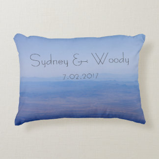 Azure Landscape Decorative Pillow