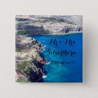 Azure Ocean Button
