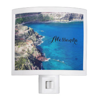 Azure Ocean Night Light