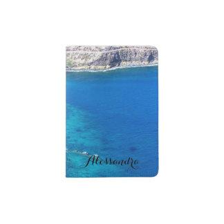 Azure Ocean Passport Holder