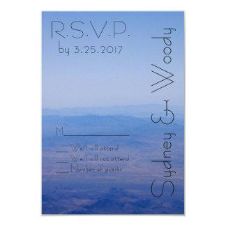 "Azure RSVP 3.5"" X 5"" Invitation Card"