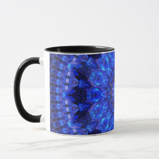 Azure Shield Mandala Mug