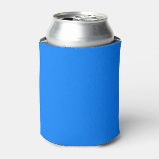 Azure Solid Colour Customize It Can Cooler