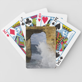 Azure Window Bicycle Playing Cards
