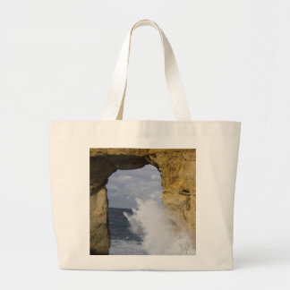 Azure Window Large Tote Bag