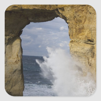 Azure Window Square Sticker