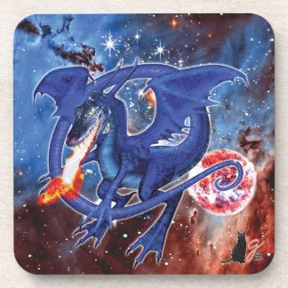 Azurite Cosmic Dragon Coaster