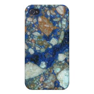 Azurite Malachite Breccia iPhone 4/4S Cover