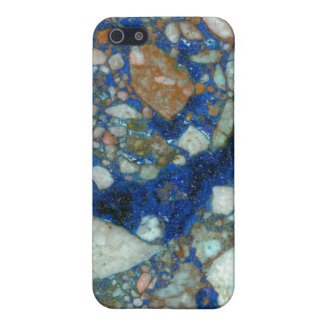 Azurite Malachite Breccia iPhone 5/5S Case