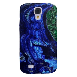 Azurite Malachite Geode iPhone3 case