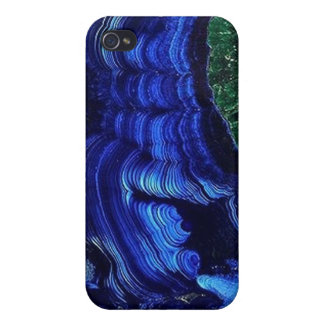 Azurite Malachite Geode iPhone4 case iPhone 4 Cases