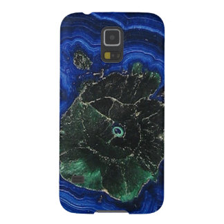 Azurite Malachite Island Galaxy S5 Case