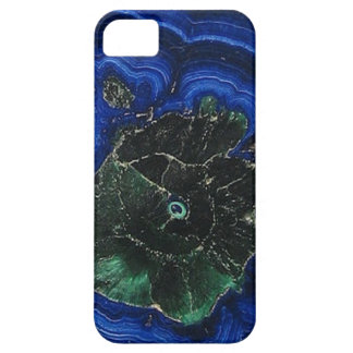 Azurite Malachite Island iPhone 5 Covers
