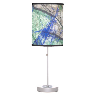 Azurite Malachite Stone II Table Lamp