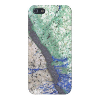 Azurite Malachite Stone iPhone 5/5S Case