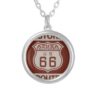 AZUSA66 SILVER PLATED NECKLACE
