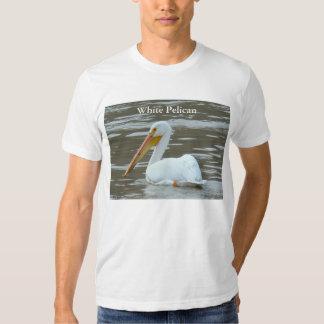 B0015 White Pelican Tees