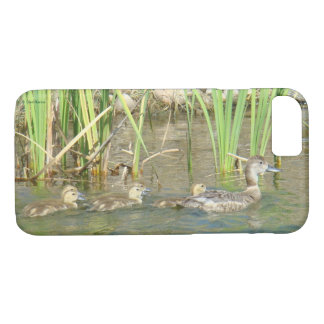B0034 Mother Duck and Ducklings Iphone 8/7 case