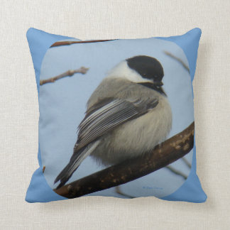 B0043 Chickadee Throw Pillow