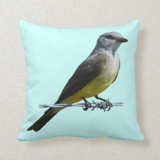 B0045 Western Kingbird Throw Pillow