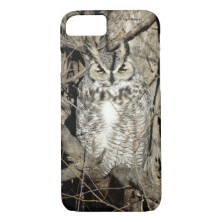 B0051 Great Horned Owl Iphone 8/7 phone case