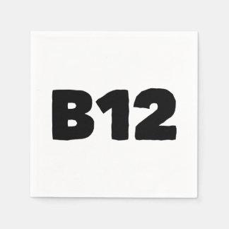 B12 DISPOSABLE NAPKIN