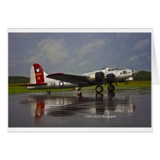 B17 Bomber Card
