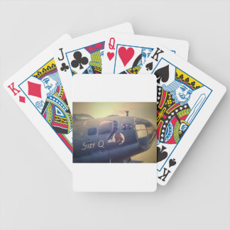 B17 Bomber Suzy Q Bicycle Playing Cards