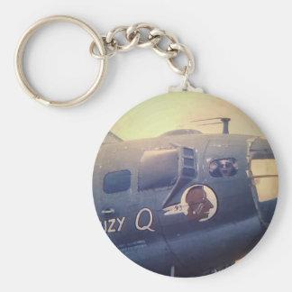 B17 Bomber Suzy Q Keychain