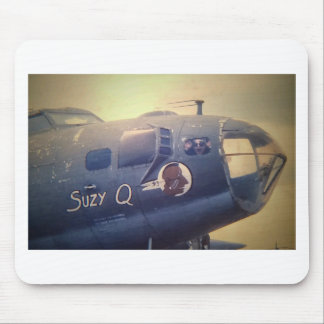 B17 Bomber Suzy Q Mouse Pad