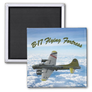 B17 Flying Fortress WWII Bomber Airplane Magnet