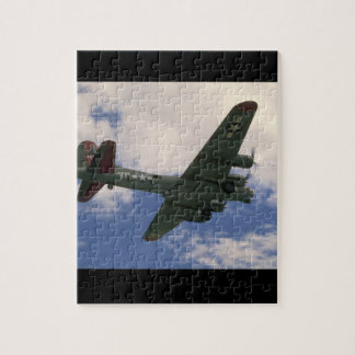 B17 Flying Overhead_WWII Planes Puzzle