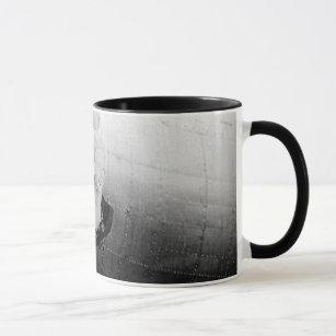 B17 Nose Art Sweet Dish Mug