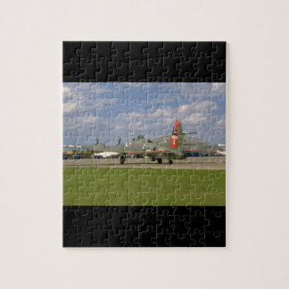 B17 On Ground, Right Rear_WWII Planes Jigsaw Puzzle
