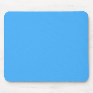 B18  Blissful Sky Blue Color Mouse Pad