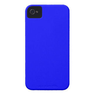 B21 Bouncy Bright Blue Color Case-Mate iPhone 4 Cases