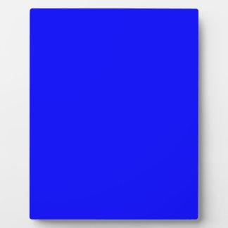 B21 Bouncy Bright Blue Color Plaque