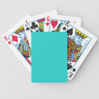 B22 Natural Robin's Egg Blue Color Bicycle Playing Cards