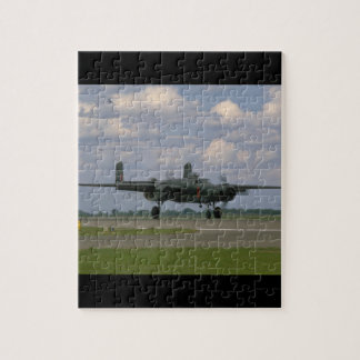 B25 Taxiing. (plane;b25_WWII Planes Puzzle