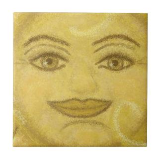 B2 - Sunface Mural, Center - B2 Ceramic Tiles