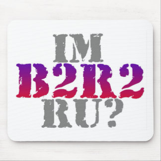 B2R2 Product Line Mouse Pad