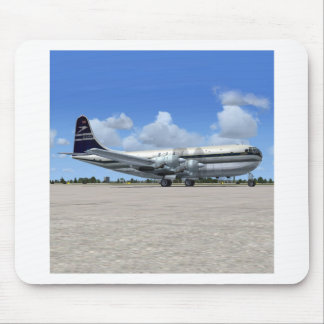 B377 Stratocruiser Airliner Mouse Pad