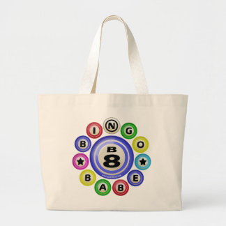 B8 Bingo Babe Large Tote Bag
